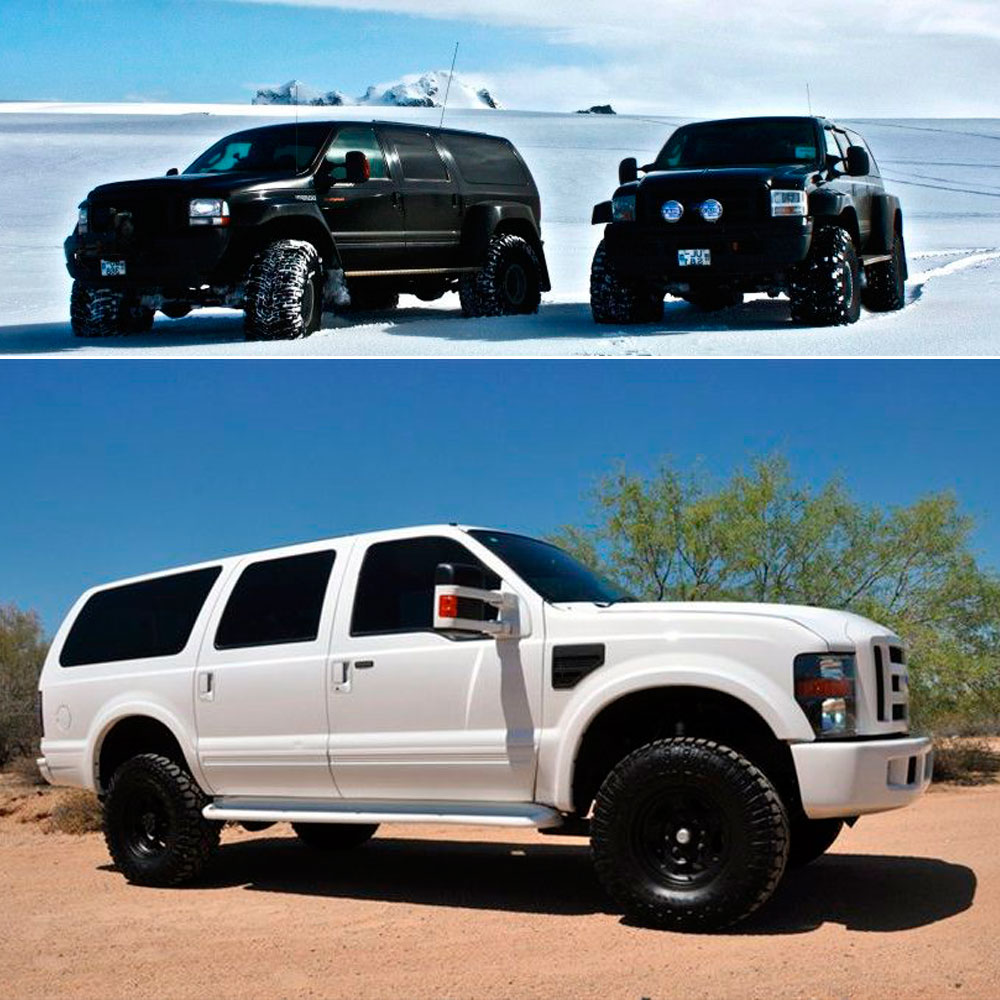 Ford Excursion тюнинг